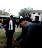 ÇALIŞAN ÇOCUKLAR - Düğünde Kalabalığın İçerisinde Defalarca Havaya Ateş Açtılar