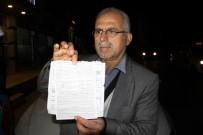 TRAFİK CEZASI - Gitmediği İstanbul'dan Trafik Cezası Geldi