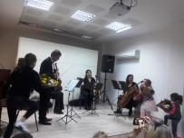 İZMIR DEVLET SENFONI ORKESTRASı - İzmir Devlet Senfoni Orkestrası, Aydın Bilim Sanat Merkezinde Konser Verdi