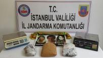 NAYLON POŞET - Jandarmadan İstanbul'da Uyuşturucu Operasyonu