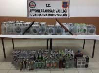 Jandarmadan Kaçak İçki Operasyonu Açıklaması 4 Gözaltı