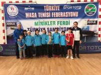 KAĞıTSPOR - Kağıtsporlu Minik Masa Tenisçilerden 2 Derece