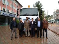ARAÇ SAYISI - Kahta Belediyesi Kanal Açma Vidanjörü Aldı