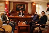 KADIR PERÇI - Karadenizliler Derneğinden Birecik Kaymakamına Ziyaret