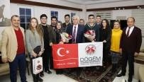 ERASMUS - Kaymakam Cantürk'e DÖGEM'in Çalışmaları Anlatıldı