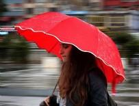 SAĞANAK YAĞMUR - Marmara Bölgesi'nde kuvvetli yağış uyarısı