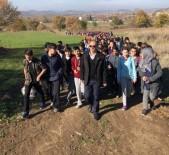 Öğrencilerden 'Toprağa Ve Doğaya Saygı' Yürüyüşü