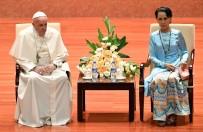 GENERAL - Papa Arakanlı Müslümanlara yapılan zulme değinemedi