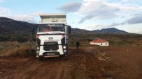 GÖKHAN KARAÇOBAN - Alaşehir'de Yol Düzenleme Çalışmaları Devam Ediyor