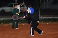 BURHANETTIN KOCAMAZ - Anamurlular Tenisi Sevdi