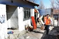 YARDIM PAKETİ - Ankara Büyükşehirin Gıda Yardımları Aralıksız Devam Ediyor