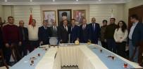 ENVER ÜNLÜ - Asimder Ve Azerbaycan Bdm'den Vali Ünlü'ye Ziyaret