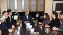 ERASMUS - Avrupa Birliği Bakanlığı Müsteşar Yardımcısı Ahmet Yücel'den Rektör Gündoğan'a Ziyaret