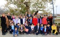 SELAHATTIN GÜRKAN - Başkan Gürkan, Çevreye Duyarlı Öğrencilerle Biraraya Geldi