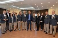 OLIMPOS - Başkan Uysal, Rotary Kulübü Üyelerini Ağırlardı