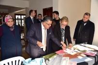 Başkan Yağcı, El Sanatları Merkezi'ni Ziyaret Etti