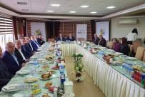 TACETTIN ÖZKARAMAN - Başkan Yılmazer, İpekyolu Belediyeler Birliği Toplantısına Katıldı