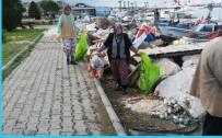 Burhaniye'de Yat Limanı Temizlendi