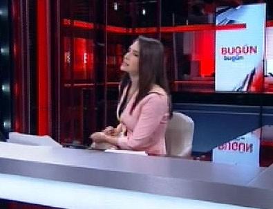 CNN Türk spikerinin zor anları