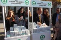 SELIMIYE CAMII - Edirne Belediyesi 10 Bin Kutu Kandil Simidi Dağıttı