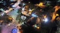 EYÜP SULTAN - Eyüp Sultan'da Mevlit Kandili Coşkusu Havadan Görüntülendi