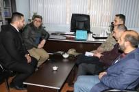 SAFRA KESESİ AMELİYATI - Kaymakam Çetin'den Müftü Aktoprak'a Ziyaret