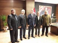 LEVENT KıLıÇ - Kaymakam Kılıç Muhtarlar Derneği Yeni Yönetimini Ağırladı