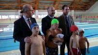 Kilis'te Down Sendromlu Çocuklar İçin Yüzme Kursu