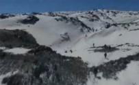 TENDÜREK DAĞI - Mehmetçik Kar Kış Dinlemiyor