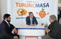 KALDIRIM TAŞI - Muratpaşa'da Randevusuz Görüşmeler