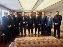 EROL AYYıLDıZ - MÜSİAD, İhtiyaç Sahipleri İçin Yardım Çeklerini Valiliğe Teslim Etti