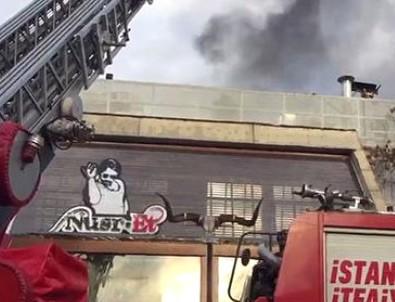 Nusret'te yangın