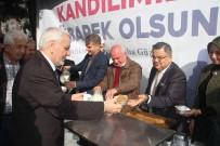 BİLİM ADAMI - Osmanlı Geleneği Olan Süt Ve Helva İkramı Yapıldı