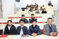 FEN FAKÜLTESİ - Rektör Gül Öğrencilerle Bir Araya Geldi
