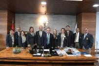 MUSTAFA DEMIR - Rotary Kulübü'nden Başkan Böcek'e Teşekkür