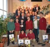 ROBOT YARIŞMASI - Salihli'de Geleceğin Bilim Adamlarına Ödül