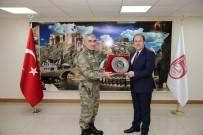 ALİ HAMZA PEHLİVAN - 3. Ordu Komutanı Orgeneral Savaş, Vali Pehlivan'ı Ziyaret Etti