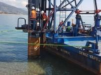 KURBAN KESİMİ - Anamur Limanı'nın Temeli Atıldı