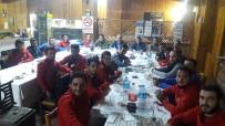 CENTİLMENLİK - Başkan Yaman, Futbolcular Ve Takım Yöneticileri İle Bir Araya Geldi