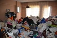 ÇÖP EV - Belediye Ekipleri Çöp Evi Temizledi