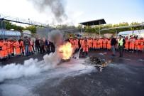 İŞÇİ SAĞLIĞI - Belediye Personeline Yangın Eğitimi