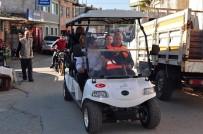 GOLF - Golf Arabasıyla Ücretsiz Pazar Servisi