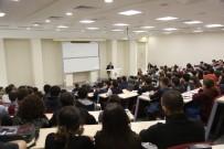 İLETİŞİM FAKÜLTESİ - HKÜ, Gazeteci Fuat Kozluklu'yu Ağırladı