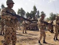 MUVAZZAF ASKER - İran'da çatışma: 8 İran askeri öldü