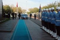 MEVLÜT UYSAL - Meclis Başkanı Kahraman'dan İBB Başkanı Mevlüt Uysal'a 'Hayırlı Olsun' Ziyareti