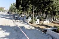 AKKENT - Mersin'de Mezarlık Duvarları Yenileniyor