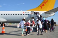 AHMET ÖZKAN - Muşlu Çocuklar İlk Kez Deniz Ve Uçakla Tanışıyor
