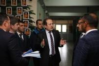 HÜSEYIN ÇALıŞKAN - Vali Pehlivan, 'Güvenli Okul Projesi' Kapsamındaki Okullarda İncelemelerde Bulundu