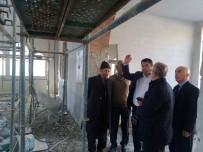 ERTUĞRUL AVCI - Aişe Camisinin Yapımı Hızla İlerliyor