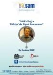 İBRAHIM USLU - ANAR Genel Müdürü Dr. İbrahim Uslu BİLSAM'ın Konuğu Olacak